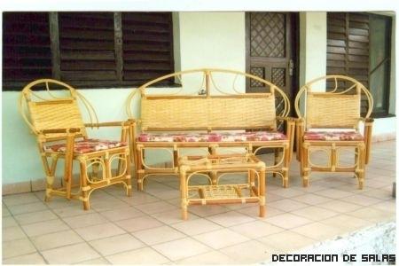 Cuida los muebles de bambú