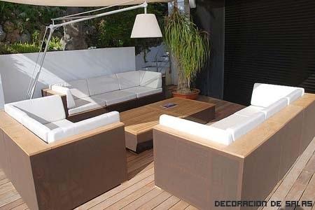 Materiales de los muebles de jardín