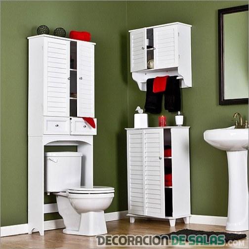 Los muebles m s funcionales para el ba o - Muebles funcionales para espacios reducidos ...