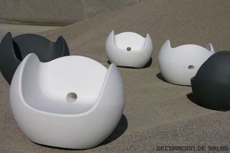 muebles plastico jardin