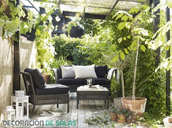 5 terrazas y jardines de ikea para este verano - Ikea terraza y jardin ...