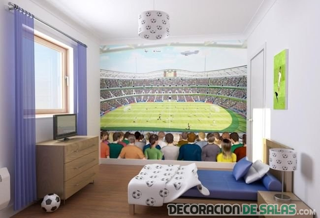 mural en habitaciones infantiles