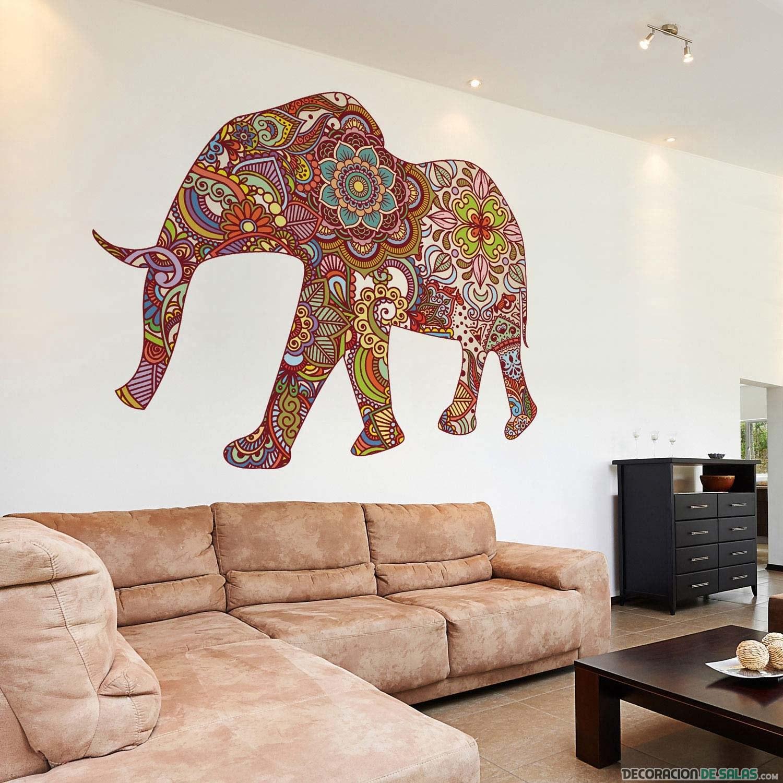 murales con fotos de animales para decorar