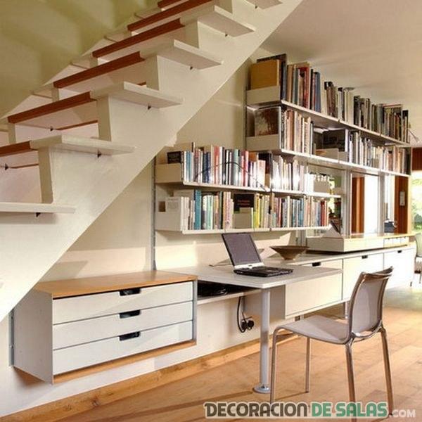 oficina amplia en sala