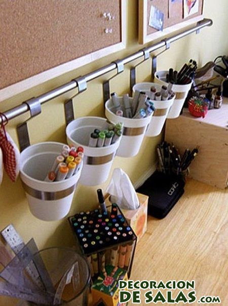 Trucos para tener el escritorio organizado for Accessoires de bureau enfant