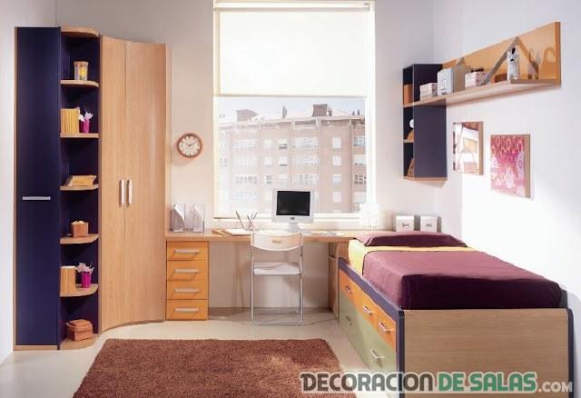 organizar los dormitorios pequeños