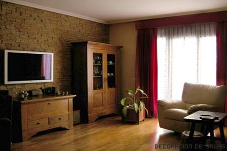 Paneles de piedra para las paredes - Salones con piedra ...
