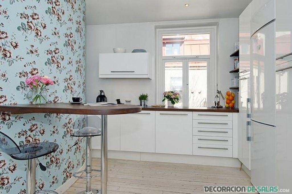 Papel pintado para la cocina - Papel pintado en cocina ...