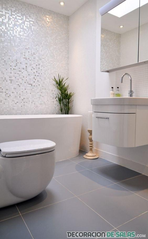 pared de baño mosaicos