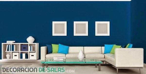 Paredes del sal n a todo color - Color de paredes para salones ...