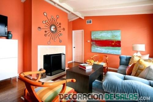 Los mejores colores para tu sal n - Decoracion de salones colores ...