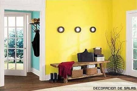 Pinta las paredes en primavera