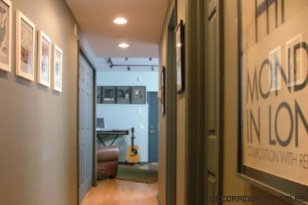 Decora todos los pasillos - Como decorar un pasillo estrecho y oscuro ...