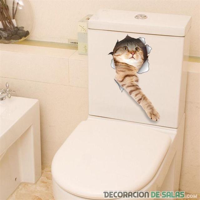 pegatina animales para baño