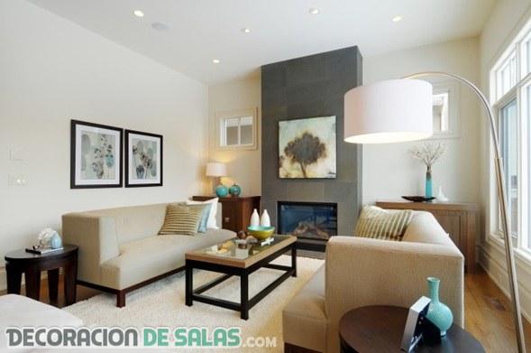 Ideas para que los salones se vean m s grandes for Ver ideas para decorar una casa