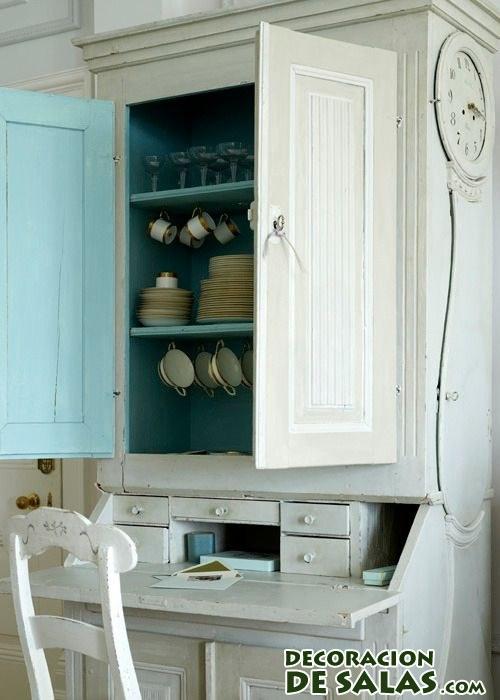 pintar las alacenas de la cocina