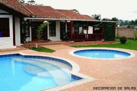 piscinas jardin