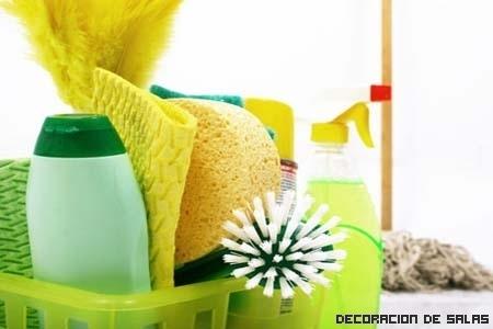 Productos naturales para limpiar la casa
