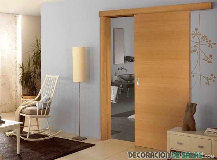 Las mejores ventajas de las puertas correderas for Puerta corredera bano leroy merlin