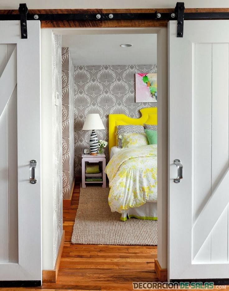 puerta corredera para dormitorio