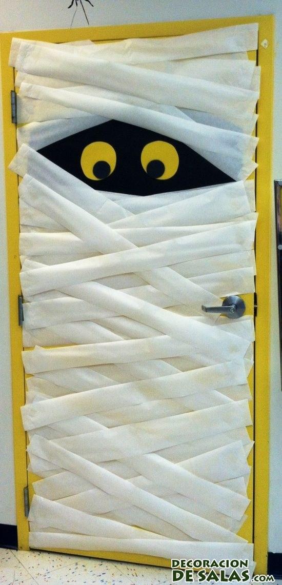Nuevas ideas para decorar tu casa en halloween for Puertas de halloween