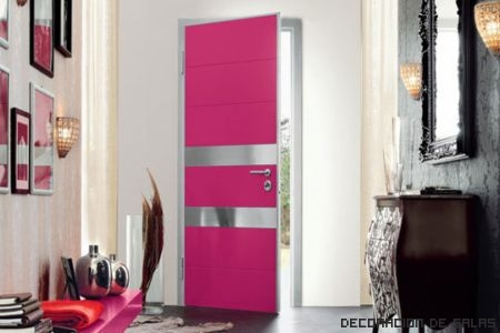 puerta rosa