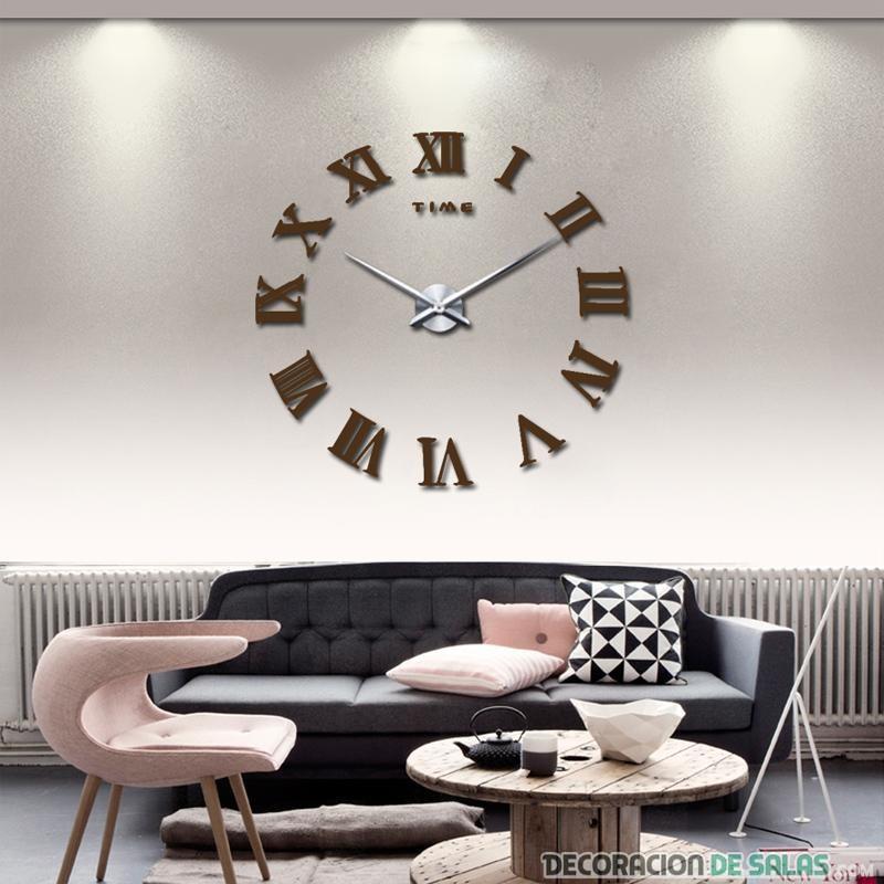 reloj de pared elegante