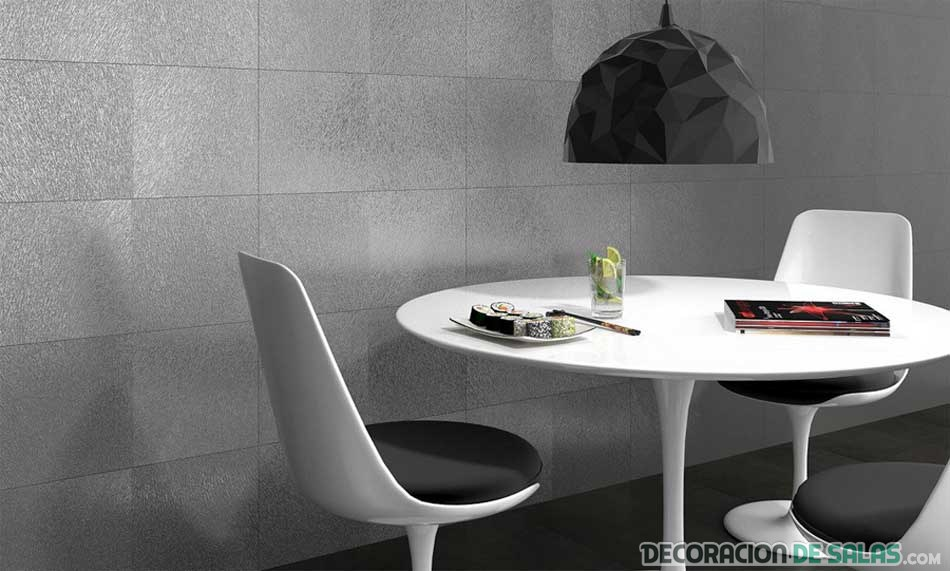 Distintos materiales para decorar paredes for Revestimiento pared cocina
