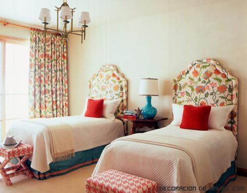 dormitorios juveniles llenos de color