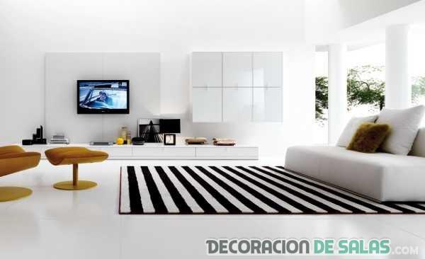 5 salas con claro estilo minimalista for Pisos minimalistas modernos