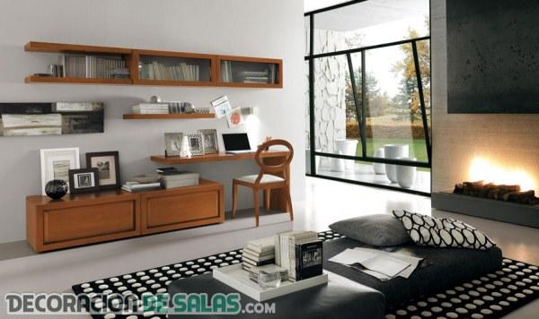 sala de estar y escritorio id ias
