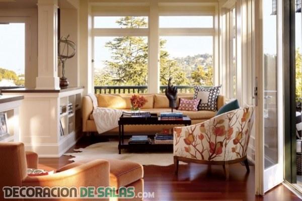 Decorar salas peque as y con encanto for Butacas pequenas y comodas