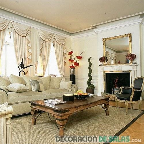 sala pequeña victoriana