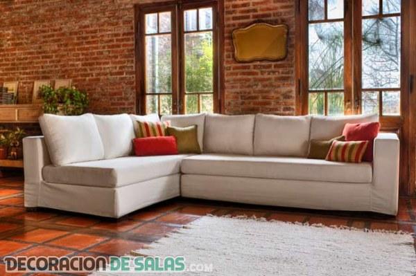 Los sof s esquineros o rinconera protagonizan estas for Sillones para dormitorios de matrimonio