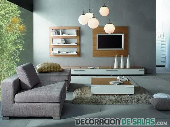 sala sencilla y elegante