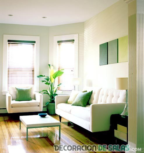ideas for small living room space salas peque 241 as y su decoraci 243 n moderna 26190