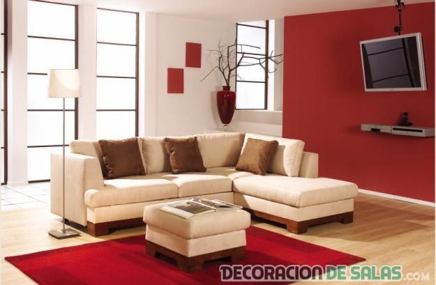 Modelos de salas modernas para inspirarte for Salas pequenas economicas