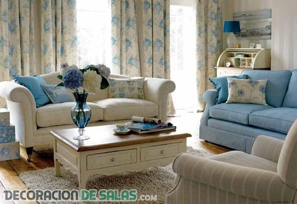 ¿Combinas el sofá con las cortinas?