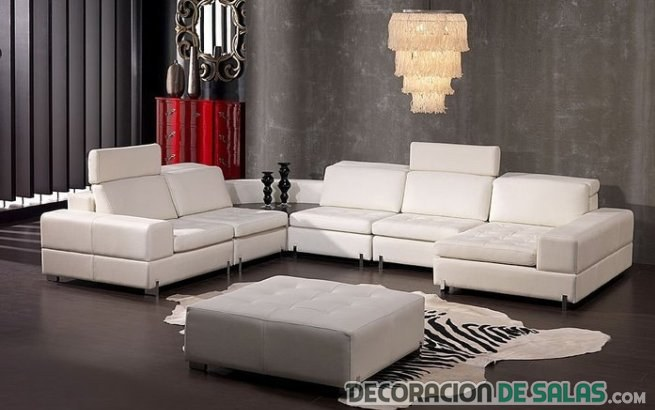 Decora tu sal n con un sof en forma de l - Como decorar un salon en forma de l ...