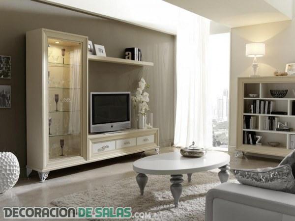 decoracin de salones clsicos y siempre elegantes - Salones Clasicos Modernos