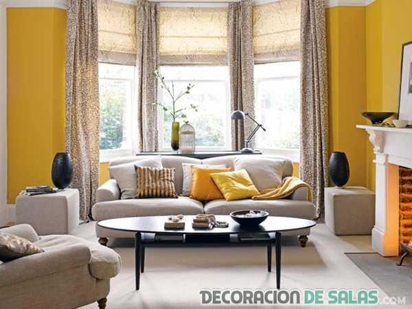 Los salones se preparan para la llegada del verano for Color tostado pared