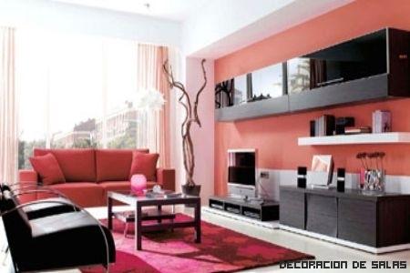 Colores c lidos estancias acogedoras for Colores minimalistas para interiores
