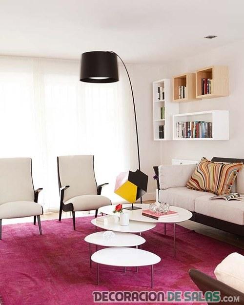 Ideas para distribuir los muebles en el sal n for Como colocar los muebles del salon