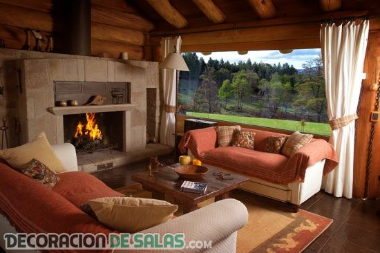 Salones decorados con estilo country - Muebles estilo country ...