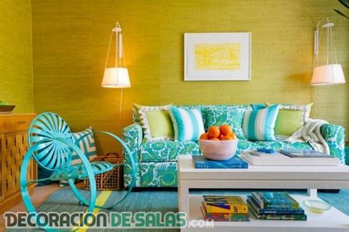 colores para paredes de salon