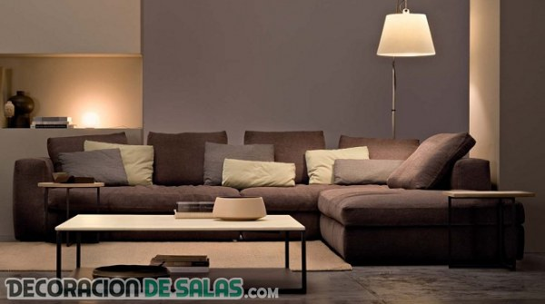 Ideas sencillas para renovar tu sof Decoracion salon sofa beige