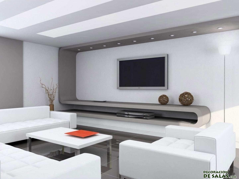 Decoraci n minimalista en salones muy elegantes - Decoracion de suelos interiores ...