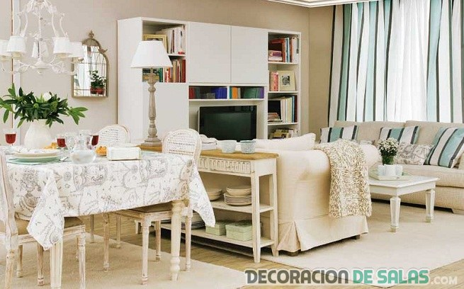 Decorar salones cuadrados muy modernos Como decorar un salon rectangular