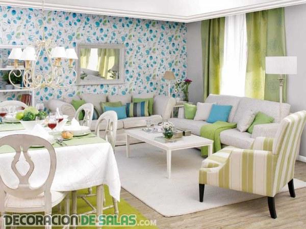 Decorar salones cuadrados muy modernos - Salones muy modernos ...