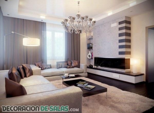 4 detalles imprescindibles para los salones modernos - Salones Modernos